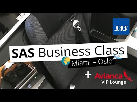 REVIEW: Avianca VIP Lounge & SAS Business from Miami to Oslo