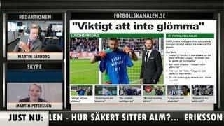 Fotbollskanalen 22 maj - Andreas Alm kan sitta löst - TV4 Sport