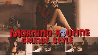 MY MORNING ROUTINE / GRWM / Grunge Style