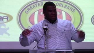 Marlon Favorite at Greater New Orleans Quarterback Club
