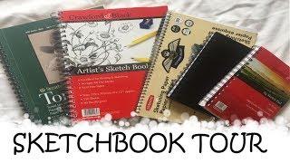 SKETCHBOOK TOUR // MY UNFINISHED SKETCHBOOKS (EmilyArts)