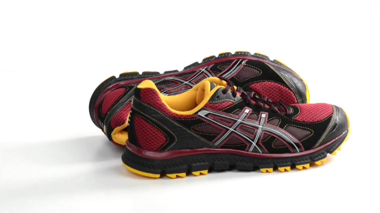 asics gel-scram mens trail running shoes