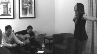 Two weeks ago Melanie performed a special acoustic version of 'Rock...
