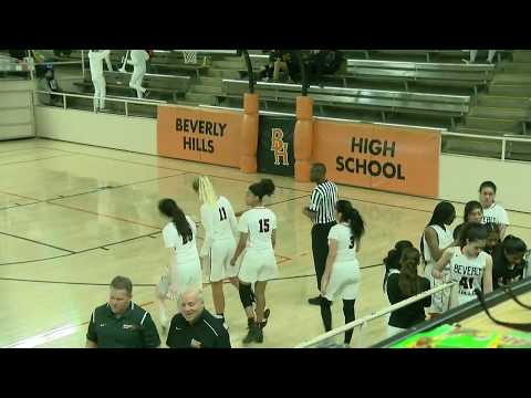 Beverly Hills vs. Peninsula Girls CIF Playoff Basketball Game (2/21/18)  [FULL GAME]