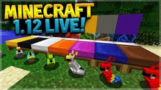 MINECRAFT 1.12 RELEASED!! Let's Explore The World Of Color (Minecraft 1.12)