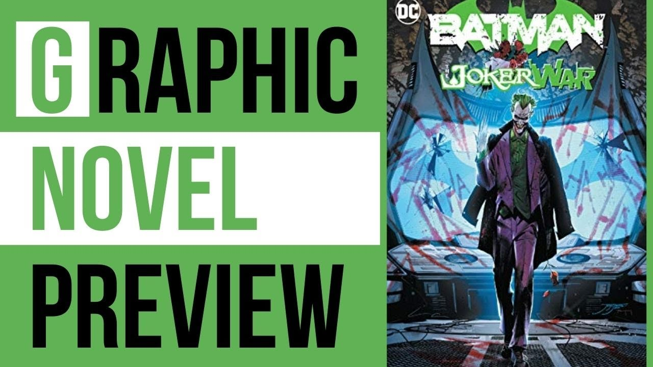 Download Batman Joker War Hardcover Graphic Novel (Opening)