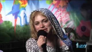 FUZZY TV: Field Day 2008 - Uffie interview