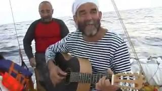 """Впервые в мире через Индийский океан Гридин Павел с командой на надувном""""матрасе"""". Капитан Кулик 06г"""