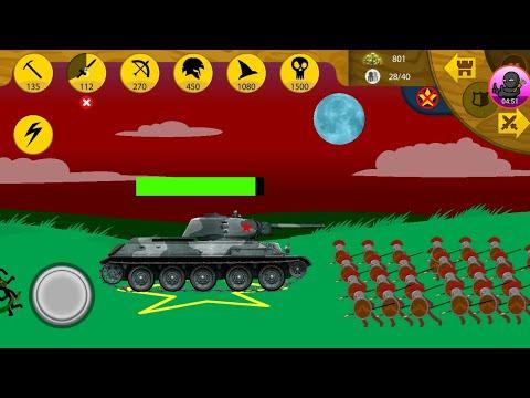 Tank Strategy Vs Giants! (🔥) STICK WAR LEGACY