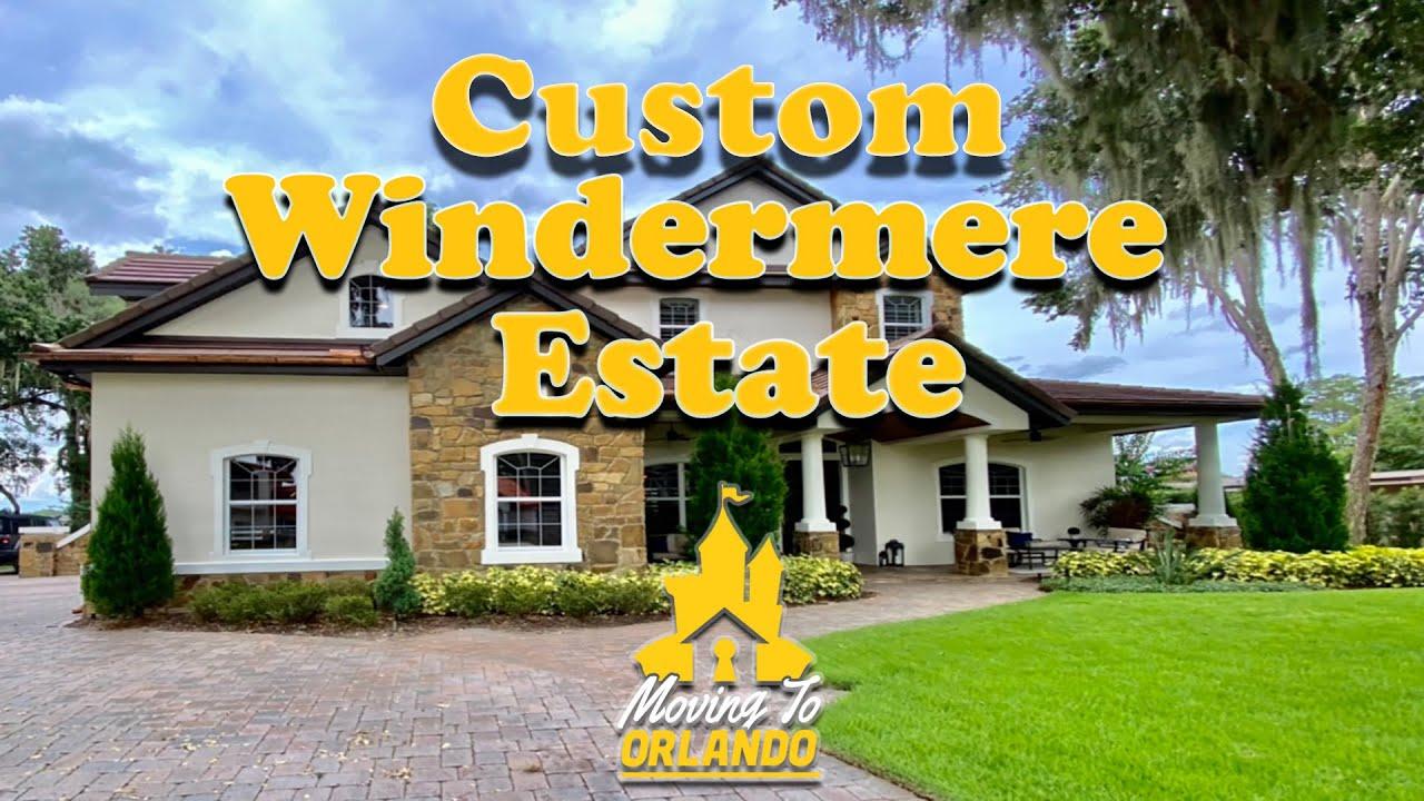 Custom Windermere Estate | Moving to Orlando | Home Tour