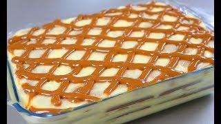 Роскошный Мягкий Быстрый Торт без выпечки Много много крема