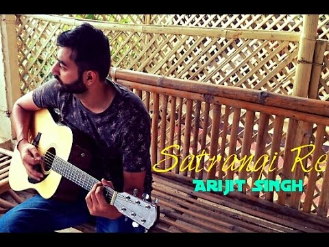 Satrangi Re | Arijit singh | Wrong side Raju | Guitar cover