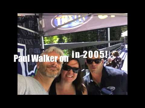 Paul Walker on with Frankie & DB in 2005 on ZHT!