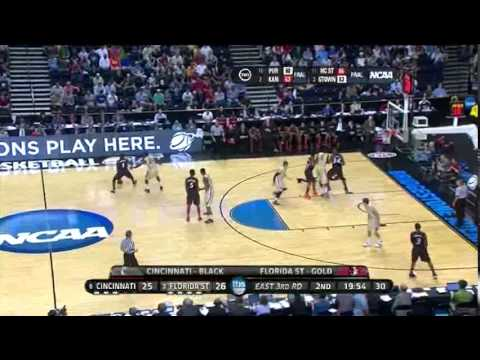Cincinnati Vs. Florida State NCAA 2nd Round 2012