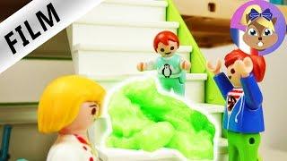 Film Playmobil en français - Emma doit vomir! Julian a une copine? Série pour enfants Famille Brie
