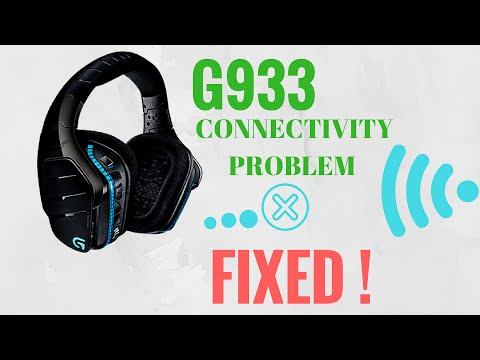 Logitech G933 Random disconnecting problem, connectivity