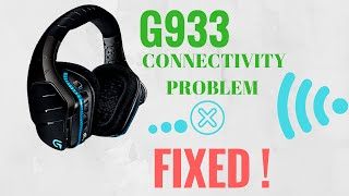 Logitech G933 Random disconnecting problem, connectivity issues, signal loss FIX!