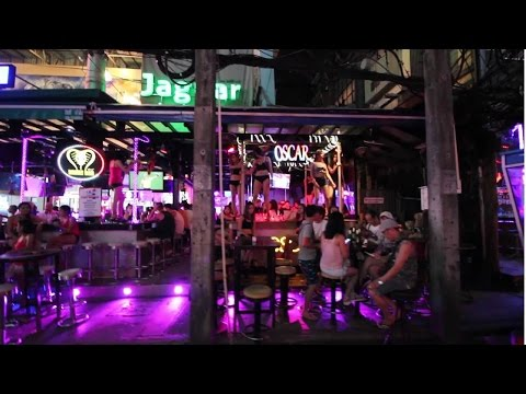 Arriving in Phuket, Thailand. Beautiful resorts and Patong nightlife. Vlog 1