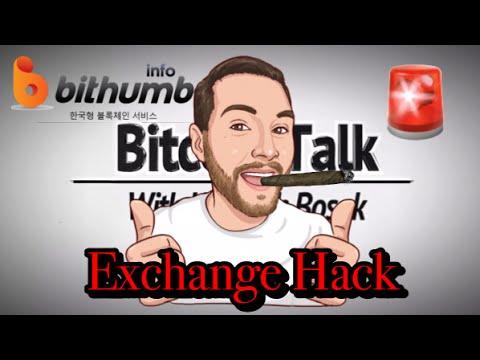 Bithumb (BITCOIN EXCHANGE) HACK - Tens Of Millions STOLEN