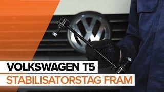 Reparation VW MULTIVAN själv - videoinstruktioner online