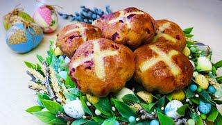 Пасхальные булочки / Рецепты на Пасху