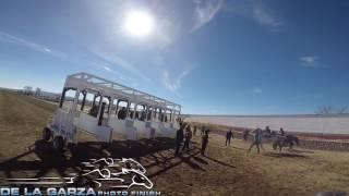ABIERTA LIBRE 350 VARAS GANA CUADRA 2 POTRILLOS SANTA ISABEL RACE TRACK, CHIHUAHUA 28 ENERO 2017