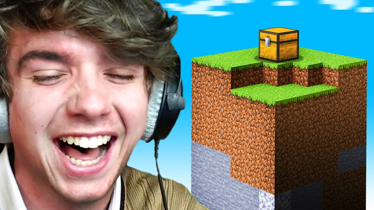 Download Beating Minecraft In One Chunk!