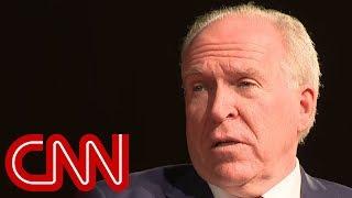 John Brennan's response to Trump draws laughter