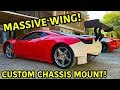 Building A Widebody Ferrari 458 Part 2