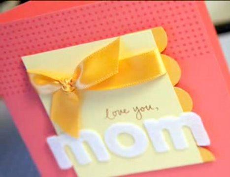 Love You, Mom - Make a Card Monday #22