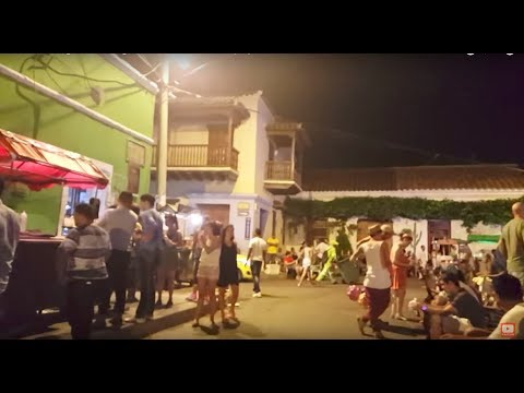 Colombian Nightlife: Cartagena de Indias, Colombia