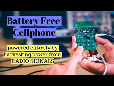 Washington:Battery-free cell phone harvests ambient power