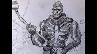 Fortnite Skull Trooper FR - Paolo Morrone