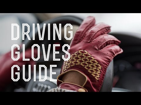 Driving Gloves Guide - How To Spot A Quality Handmade Men's Leather Pair For Your Race Car