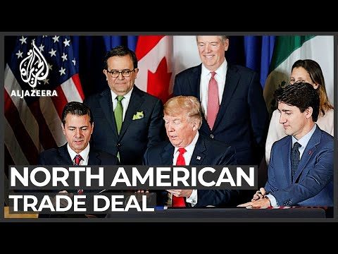 Trump Expected To Sign New North American Trade Deal