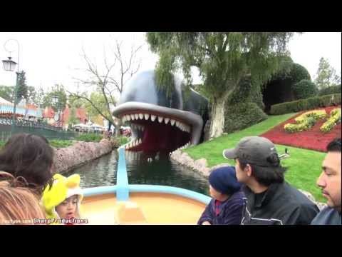 Storybook Land Canal Boats (On-Ride) Disneyland