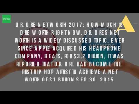 How Much Is Dr Dre Worth