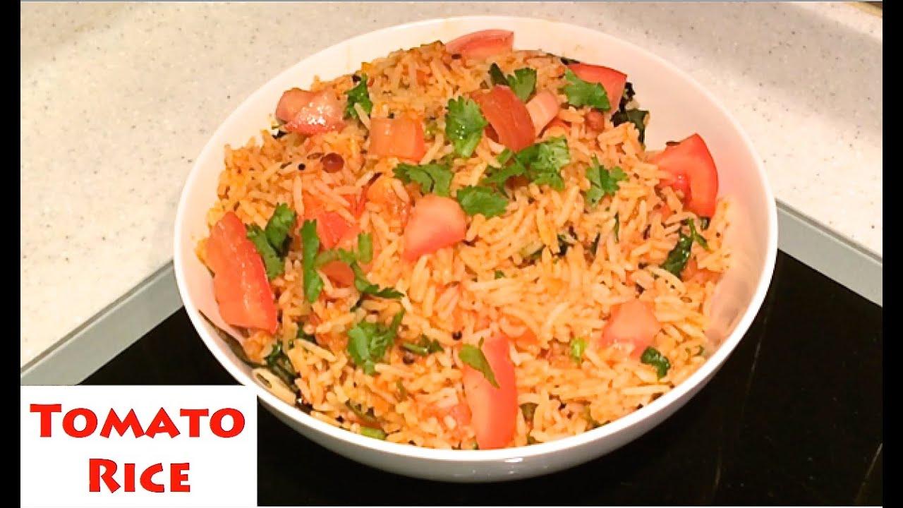 Tomato rice tomato rice recipe thakkali sadam rice recipe tomato rice tomato rice recipe thakkali sadam rice recipe how to cookprepare tomato rice youtube forumfinder Gallery