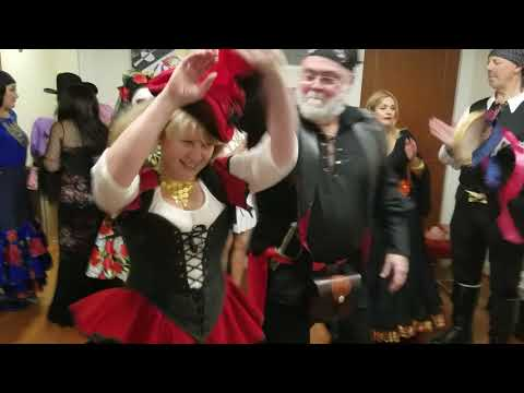 #Dancing at the Russian #Halloween party in DC - E.2