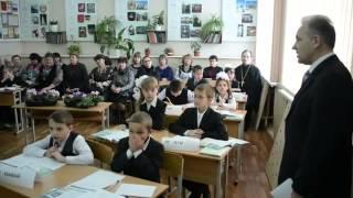 Открытый урок В Ф  Басова по ОПК