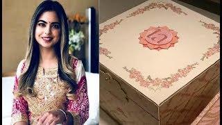 Isha Ambani-Anand Piramal's wedding invite is all things royal; शादी के कार्ड की कीमत 3 लाख Rs