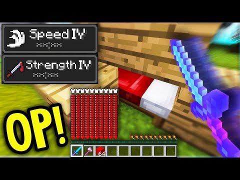 NEW OVERPOWERED UPDATE in Minecraft Bed Wars!