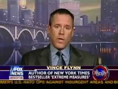 Vince Flynn on The O'Reilly Factor 12/1/08