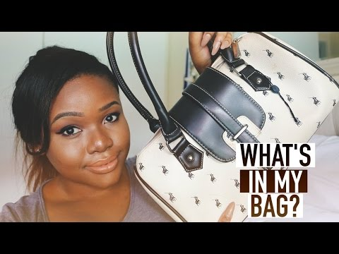 TAG! | What's in my bag? | South African Beauty Blogger