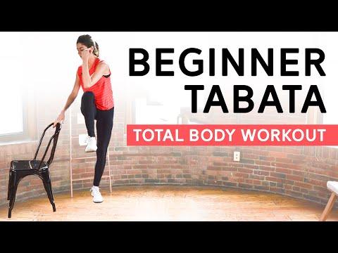 Beginner Tabata Workout Full Body, No Equipment Needed