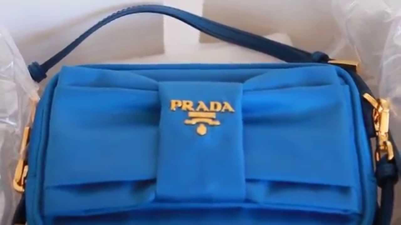 Prada Bag Unboxing 2015 - YouTube b9a9fe382042c