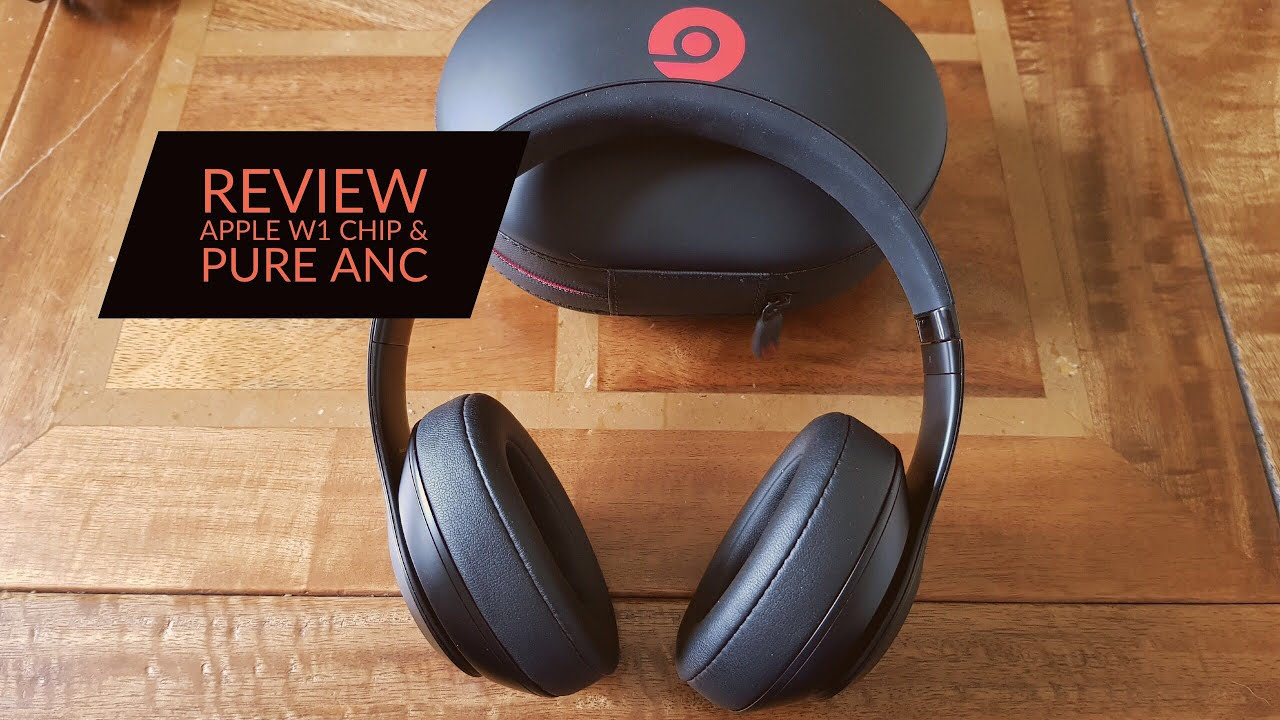 8574bc32ffe Beats Studio 3 Wireless Headphones Review with Apple W1 Chip - YouTube