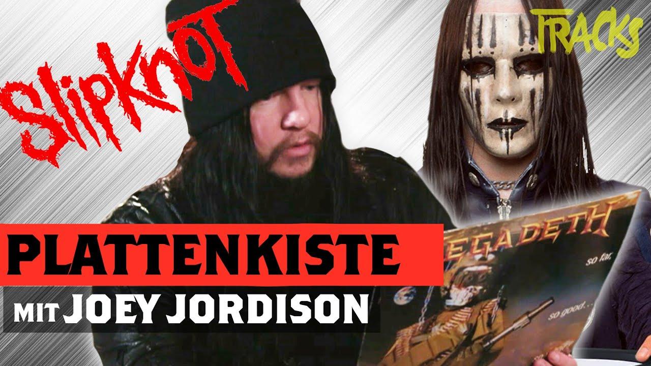 Joey Jordison (Slipknot) on ACDC, KISS and The Police (2018)   Arte TRACKS Plattenkiste
