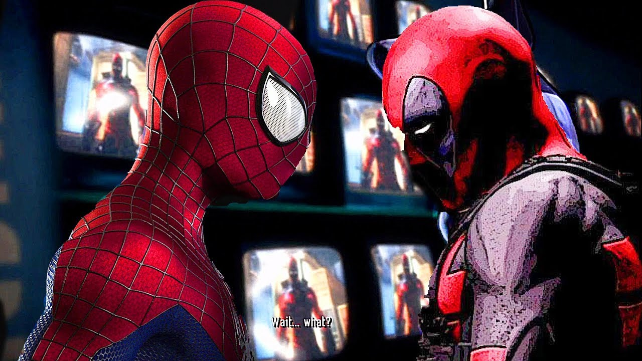 Spider-Man gegen Deadpool Boss Kampfszene - Spider-Man Shattered Dimensions + video