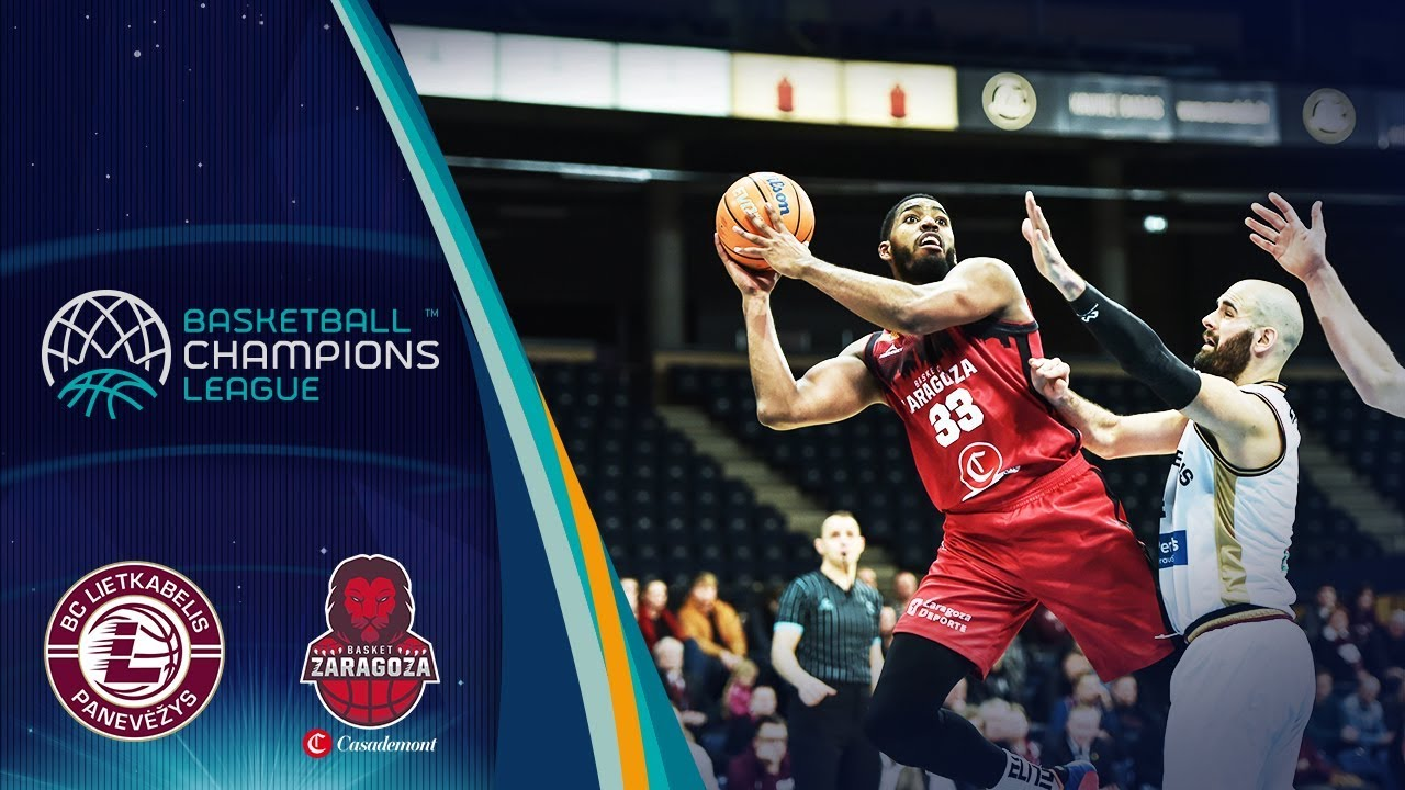 Lietkabelis v Casademont Zaragoza - Full Game - Round of 16 - Basketball Champions League 2019